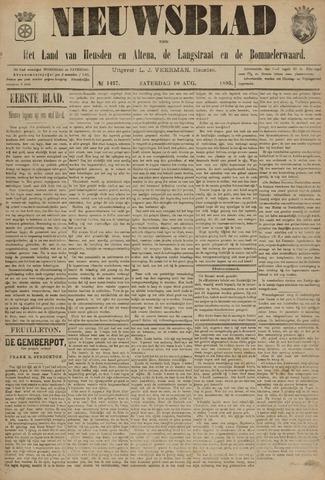 Nieuwsblad het land van Heusden en Altena de Langstraat en de Bommelerwaard 1895-08-10