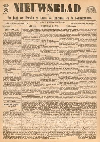 Nieuwsblad het land van Heusden en Altena de Langstraat en de Bommelerwaard 1905-06-21