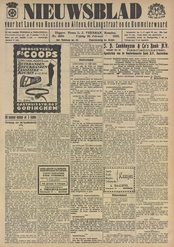 Nieuwsblad het land van Heusden en Altena de Langstraat en de Bommelerwaard 1930-02-28