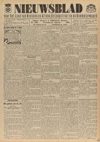 Nieuwsblad het land van Heusden en Altena de Langstraat en de Bommelerwaard 1930-08-27