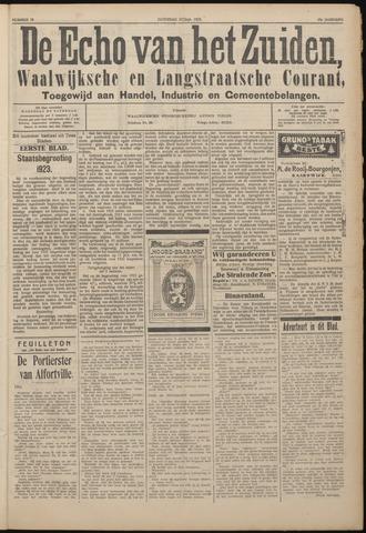 Echo van het Zuiden 1922-09-23