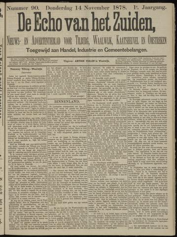 Echo van het Zuiden 1878-11-14