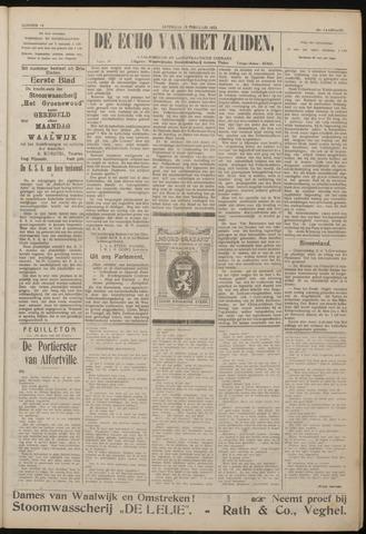 Echo van het Zuiden 1922-02-18