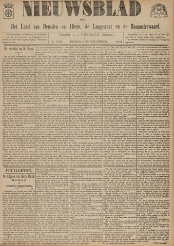 Nieuwsblad het land van Heusden en Altena de Langstraat en de Bommelerwaard 1896-12-29