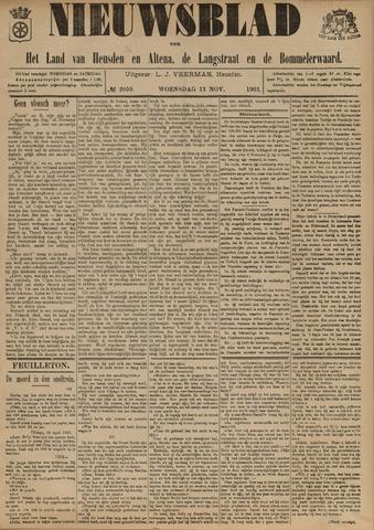 Nieuwsblad het land van Heusden en Altena de Langstraat en de Bommelerwaard 1901-11-13