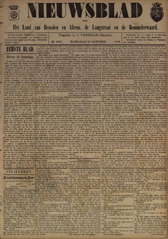 Nieuwsblad het land van Heusden en Altena de Langstraat en de Bommelerwaard 1893-10-21