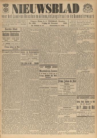 Nieuwsblad het land van Heusden en Altena de Langstraat en de Bommelerwaard 1923-11-30