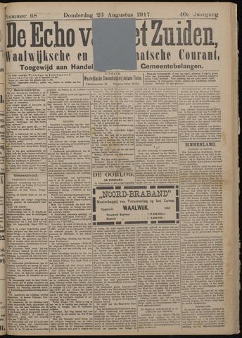 Echo van het Zuiden 1917-08-23