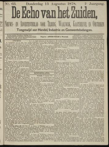 Echo van het Zuiden 1878-08-15