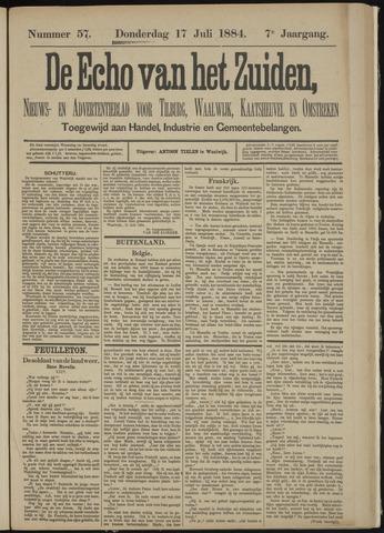 Echo van het Zuiden 1884-07-17