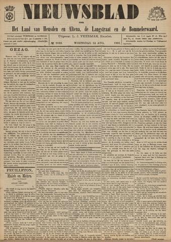 Nieuwsblad het land van Heusden en Altena de Langstraat en de Bommelerwaard 1901-08-14