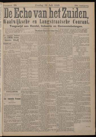 Echo van het Zuiden 1915-07-18