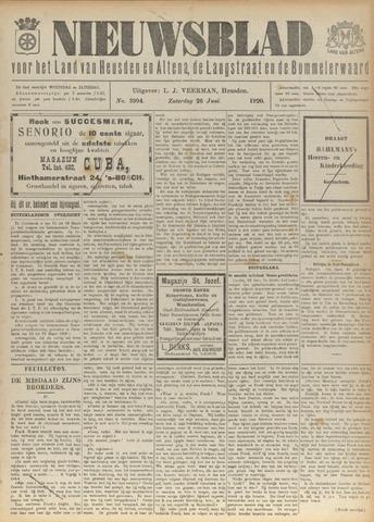 Nieuwsblad het land van Heusden en Altena de Langstraat en de Bommelerwaard 1920-06-26
