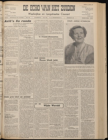 Echo van het Zuiden 1955-04-29