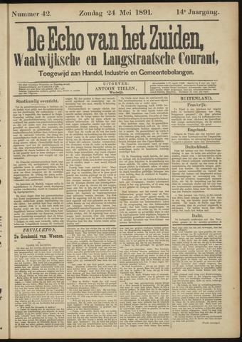 Echo van het Zuiden 1891-05-24