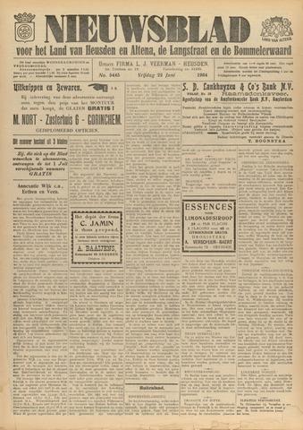 Nieuwsblad het land van Heusden en Altena de Langstraat en de Bommelerwaard 1934-06-22