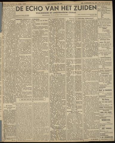 Echo van het Zuiden 1945-04-16
