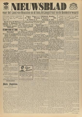 Nieuwsblad het land van Heusden en Altena de Langstraat en de Bommelerwaard 1928-09-12