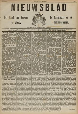 Nieuwsblad het land van Heusden en Altena de Langstraat en de Bommelerwaard 1891-07-01