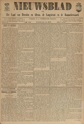 Nieuwsblad het land van Heusden en Altena de Langstraat en de Bommelerwaard 1894-11-28