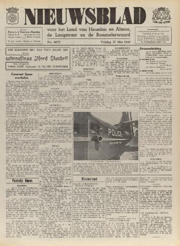 Nieuwsblad het land van Heusden en Altena de Langstraat en de Bommelerwaard 1949-05-27