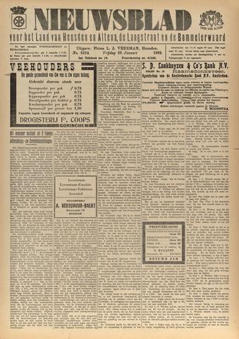 Nieuwsblad het land van Heusden en Altena de Langstraat en de Bommelerwaard 1932-01-22
