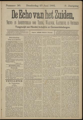 Echo van het Zuiden 1881-06-23
