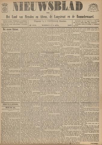 Nieuwsblad het land van Heusden en Altena de Langstraat en de Bommelerwaard 1897-08-04
