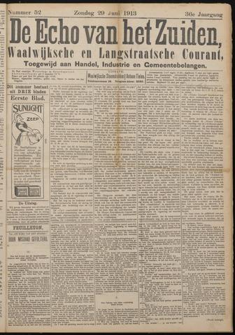 Echo van het Zuiden 1913-06-29