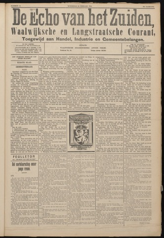 Echo van het Zuiden 1926-02-24