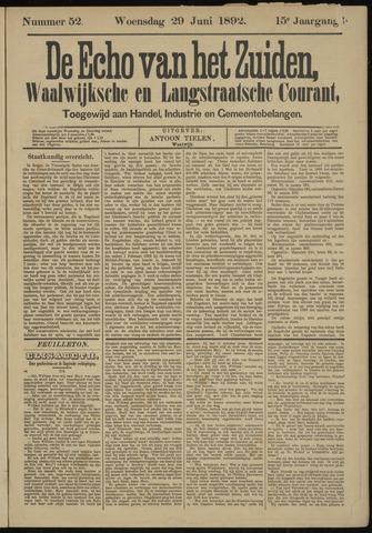 Echo van het Zuiden 1892-06-30