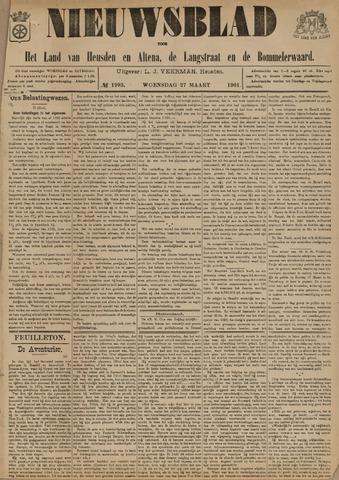 Nieuwsblad het land van Heusden en Altena de Langstraat en de Bommelerwaard 1901-03-27