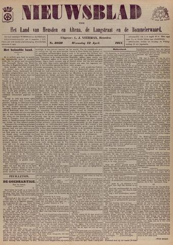 Nieuwsblad het land van Heusden en Altena de Langstraat en de Bommelerwaard 1911-04-12