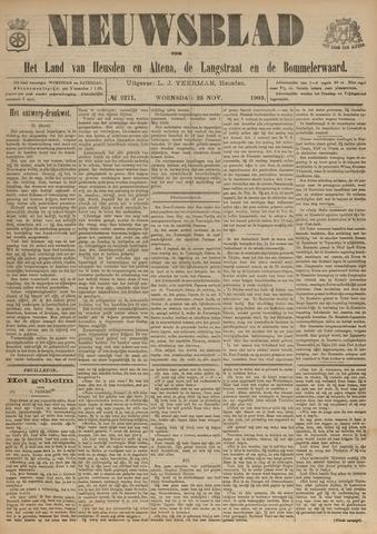 Nieuwsblad het land van Heusden en Altena de Langstraat en de Bommelerwaard 1903-11-25