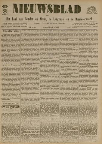 Nieuwsblad het land van Heusden en Altena de Langstraat en de Bommelerwaard 1899-05-03