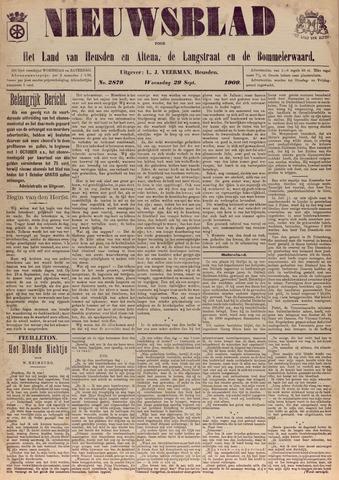 Nieuwsblad het land van Heusden en Altena de Langstraat en de Bommelerwaard 1909-09-29