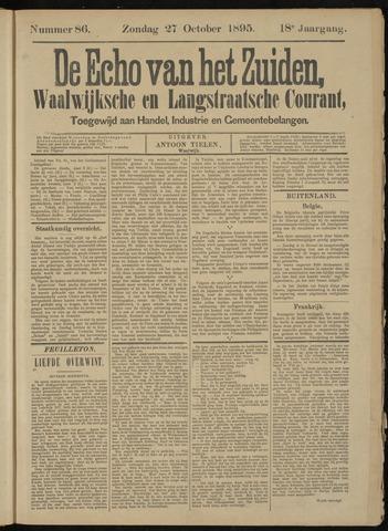 Echo van het Zuiden 1895-10-27