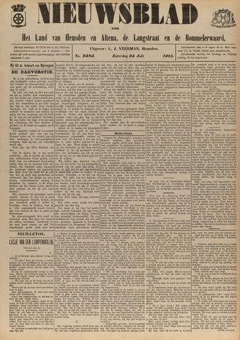 Nieuwsblad het land van Heusden en Altena de Langstraat en de Bommelerwaard 1915-07-24