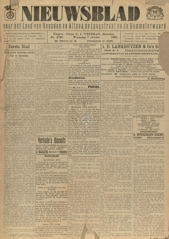 Nieuwsblad het land van Heusden en Altena de Langstraat en de Bommelerwaard 1927-10-07