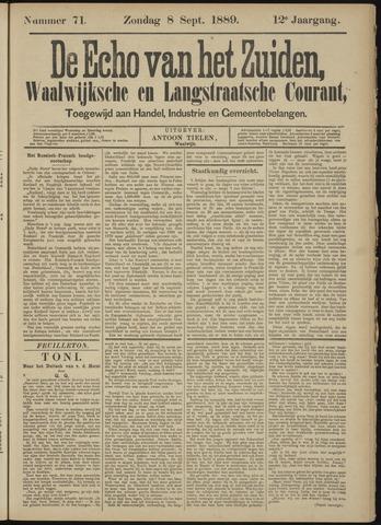 Echo van het Zuiden 1889-09-08
