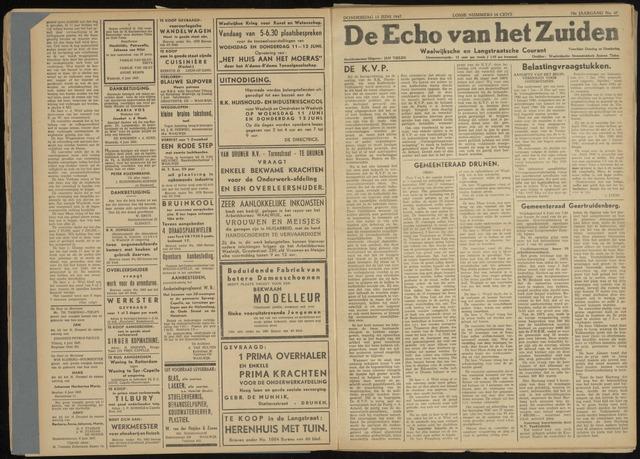 Echo van het Zuiden 1947-06-12