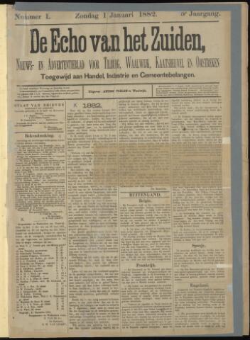 Echo van het Zuiden 1882-01-01