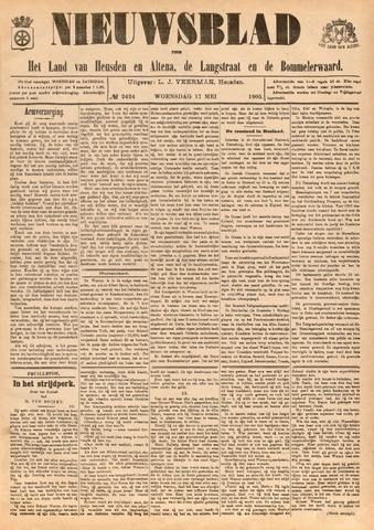 Nieuwsblad het land van Heusden en Altena de Langstraat en de Bommelerwaard 1905-05-17