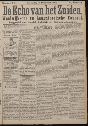 Echo van het Zuiden 1909-12-08