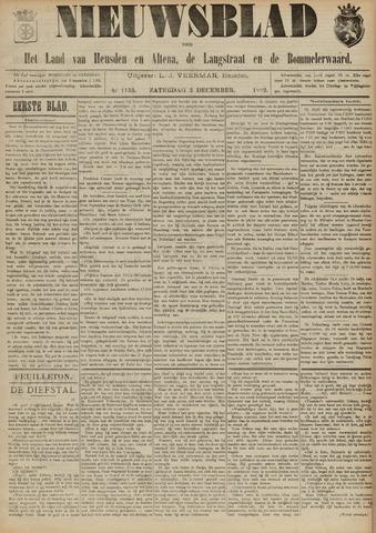 Nieuwsblad het land van Heusden en Altena de Langstraat en de Bommelerwaard 1892-12-03