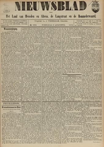 Nieuwsblad het land van Heusden en Altena de Langstraat en de Bommelerwaard 1893-08-02