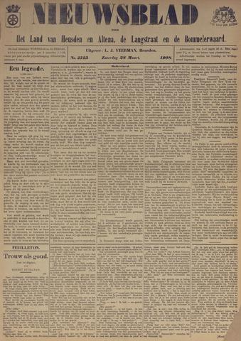 Nieuwsblad het land van Heusden en Altena de Langstraat en de Bommelerwaard 1908-03-28