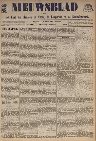 Nieuwsblad het land van Heusden en Altena de Langstraat en de Bommelerwaard 1909-10-13