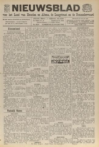 Nieuwsblad het land van Heusden en Altena de Langstraat en de Bommelerwaard 1948-01-22