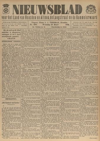 Nieuwsblad het land van Heusden en Altena de Langstraat en de Bommelerwaard 1924-03-19